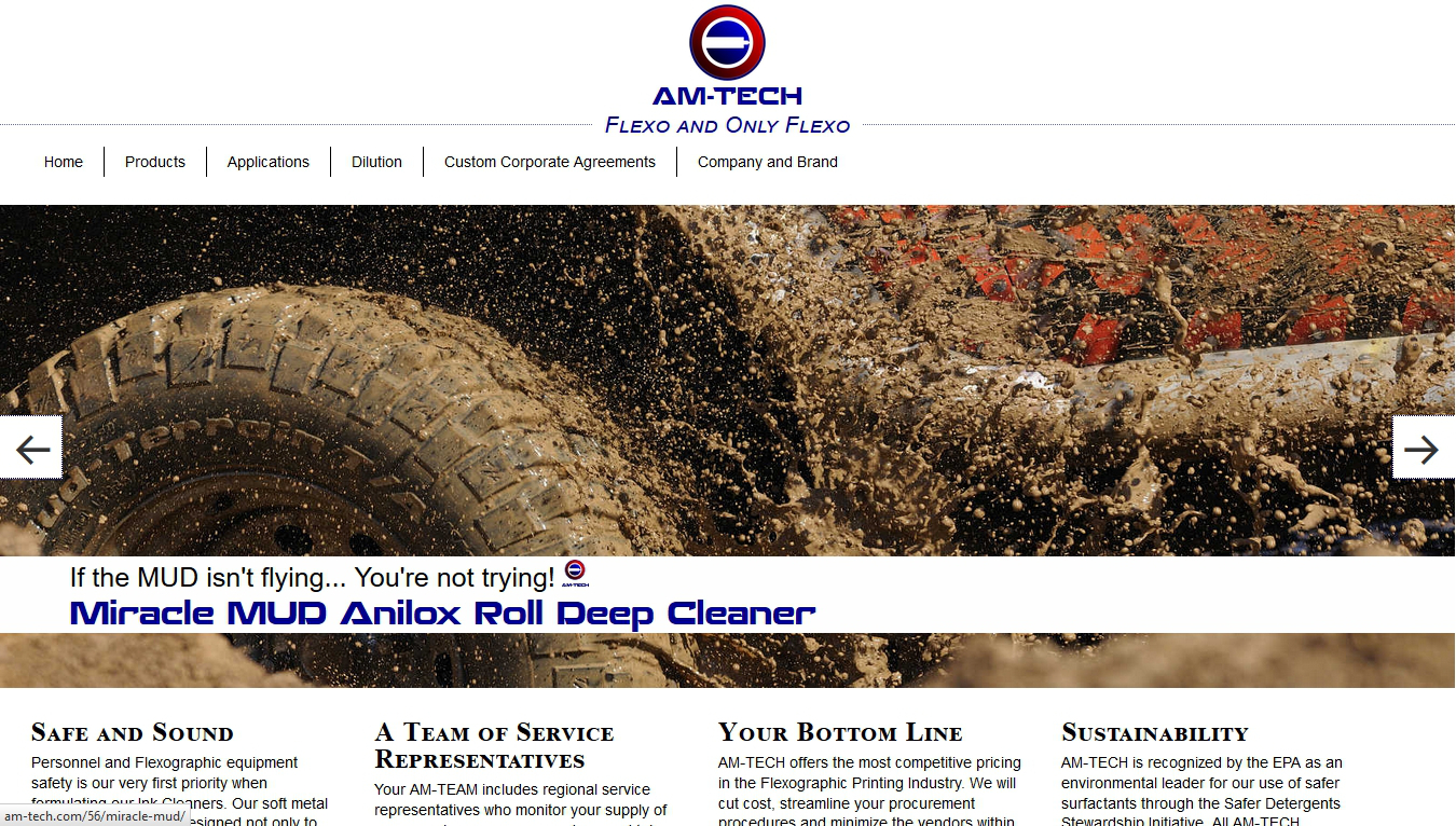 AM-TECH designs, manufactures, and sells the highest quality Flexographic Ink Dissolvers made anywhere.